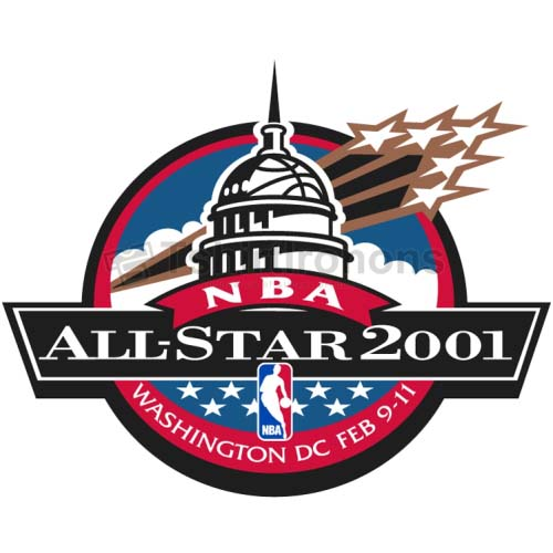 NBA All Star Game T-shirts Iron On Transfers N865