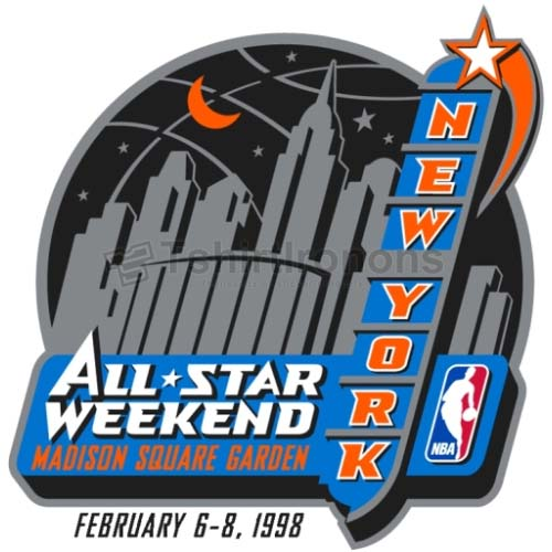 NBA All Star Game T-shirts Iron On Transfers N868
