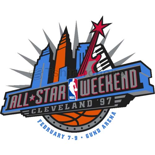 NBA All Star Game T-shirts Iron On Transfers N869