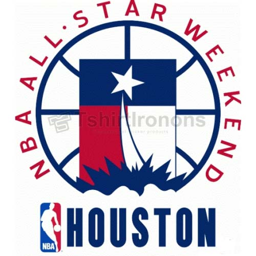 NBA All Star Game T-shirts Iron On Transfers N872