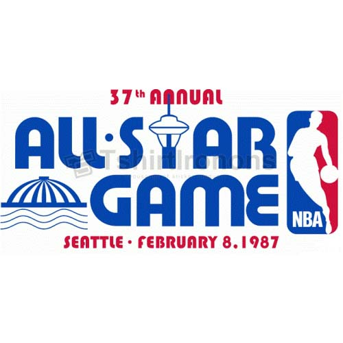NBA All Star Game T-shirts Iron On Transfers N873