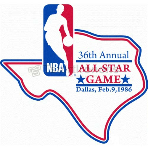 NBA All Star Game T-shirts Iron On Transfers N874