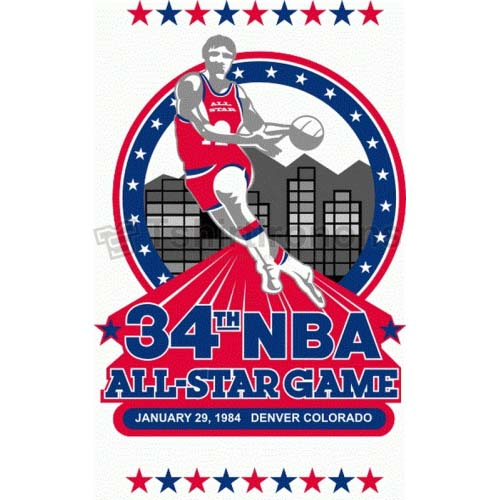 NBA All Star Game T-shirts Iron On Transfers N875