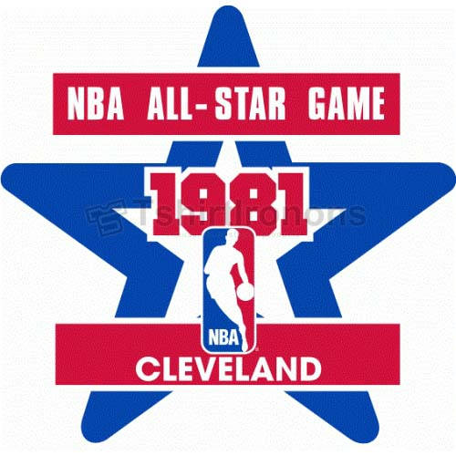NBA All Star Game T-shirts Iron On Transfers N877