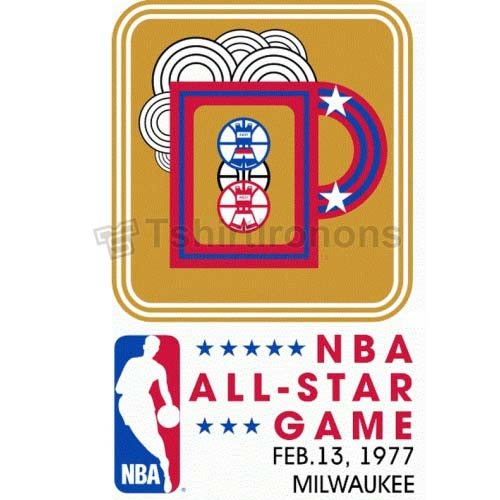 NBA All Star Game T-shirts Iron On Transfers N879