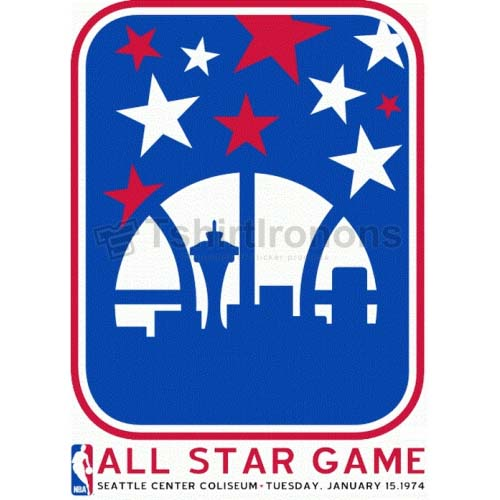 NBA All Star Game T-shirts Iron On Transfers N882