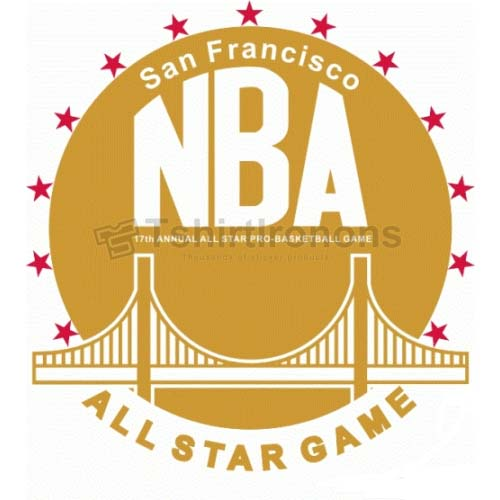 NBA All Star Game T-shirts Iron On Transfers N883