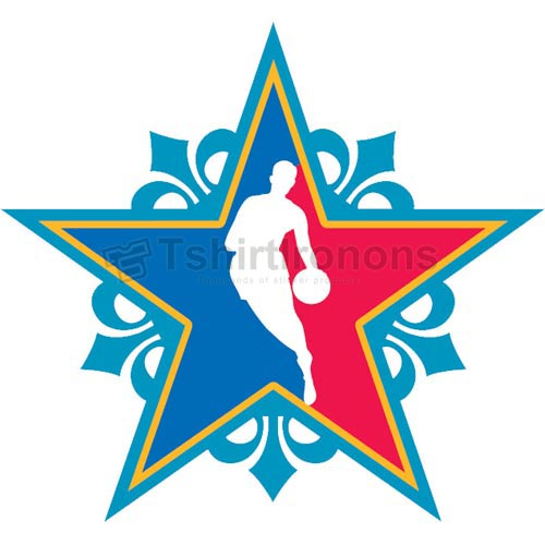 NBA All Star Game T-shirts Iron On Transfers N891