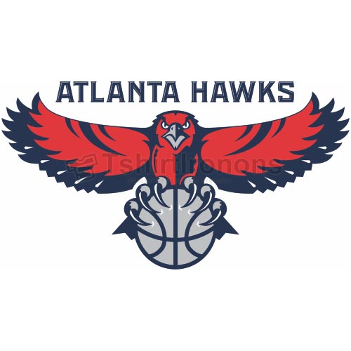 Atlanta Hawks T-shirts Iron On Transfers N901