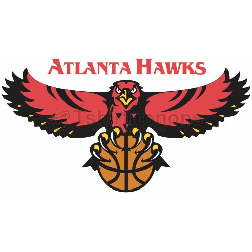 Atlanta Hawks T-shirts Iron On Transfers N904
