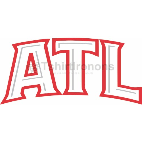 Atlanta Hawks T-shirts Iron On Transfers N907