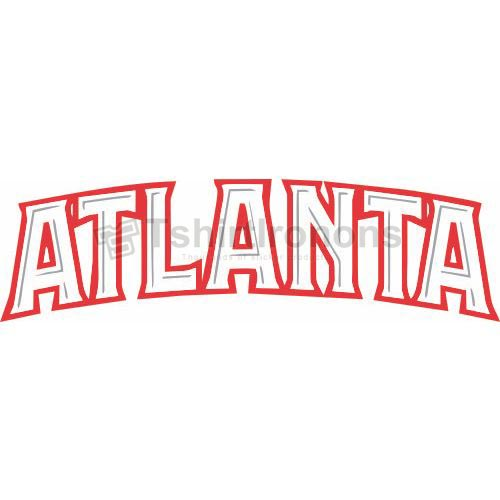 Atlanta Hawks T-shirts Iron On Transfers N913