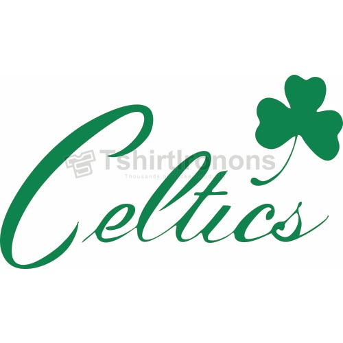 Boston Celtics T-shirts Iron On Transfers N918