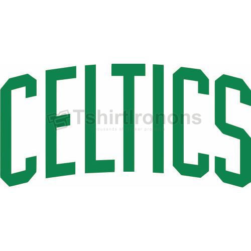 Boston Celtics T-shirts Iron On Transfers N920