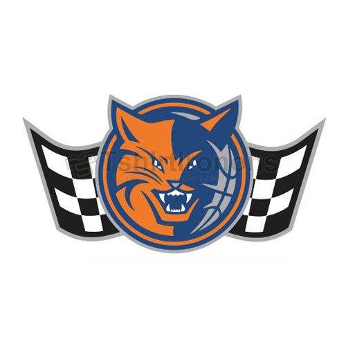 Charlotte Bobcats T-shirts Iron On Transfers N932
