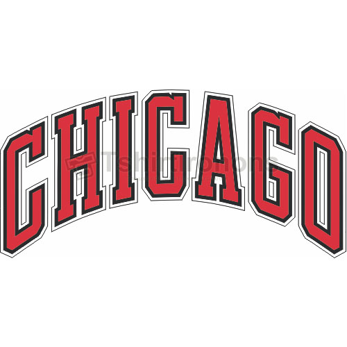 Chicago Bulls T-shirts Iron On Transfers N934