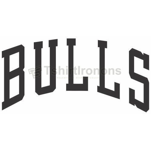 Chicago Bulls T-shirts Iron On Transfers N939