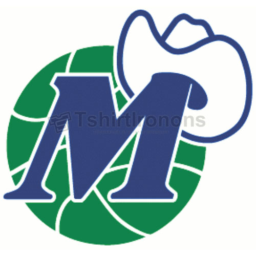 Dallas Mavericks T-shirts Iron On Transfers N974