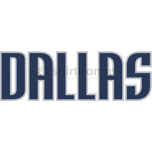 Dallas Mavericks T-shirts Iron On Transfers N975