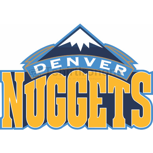 Denver Nuggets T-shirts Iron On Transfers N977