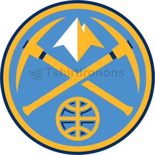 Denver Nuggets T-shirts Iron On Transfers N984