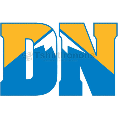 Denver Nuggets T-shirts Iron On Transfers N986