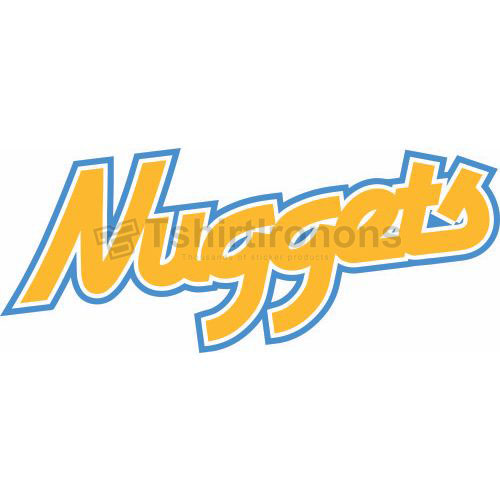 Denver Nuggets T-shirts Iron On Transfers N989