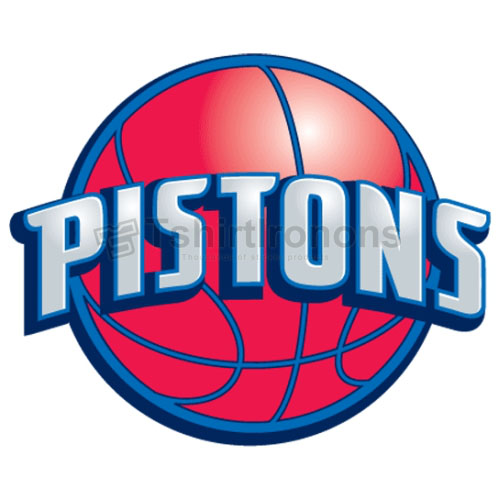 Detroit Pistons T-shirts Iron On Transfers N1003