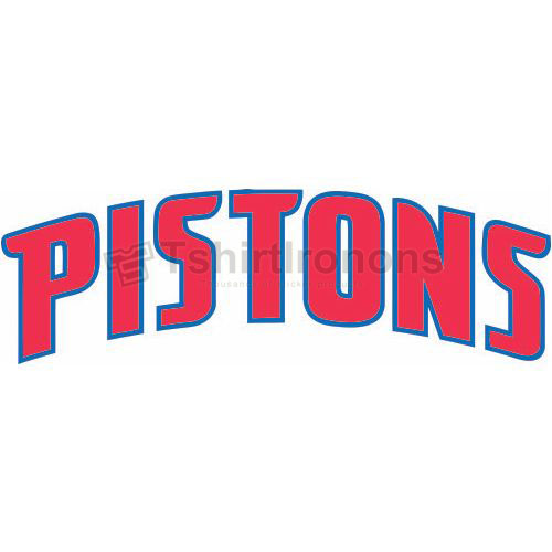Detroit Pistons T-shirts Iron On Transfers N1005