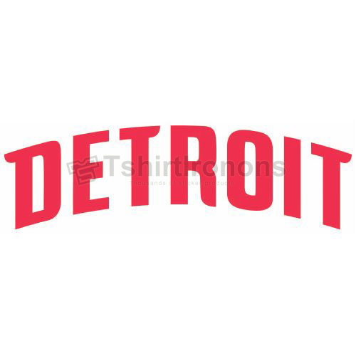 Detroit Pistons T-shirts Iron On Transfers N1006