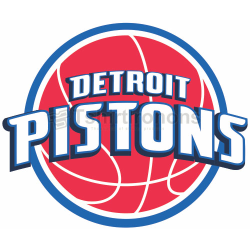 Detroit Pistons T-shirts Iron On Transfers N990