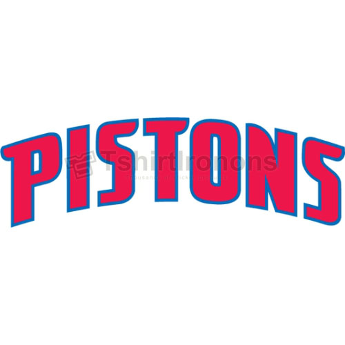 Detroit Pistons T-shirts Iron On Transfers N993