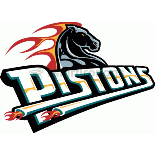 Detroit Pistons T-shirts Iron On Transfers N994