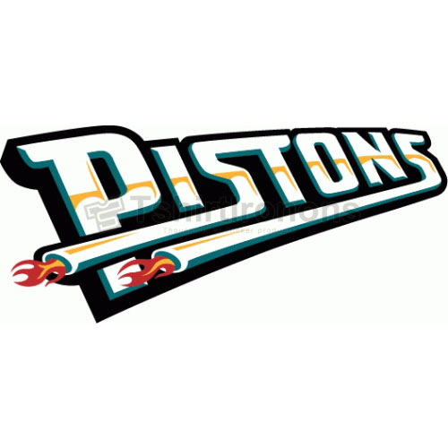 Detroit Pistons T-shirts Iron On Transfers N995