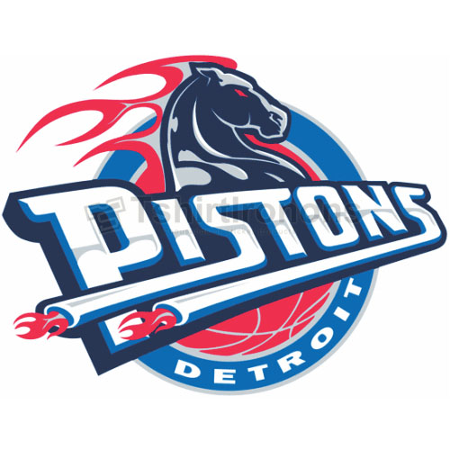 Detroit Pistons T-shirts Iron On Transfers N996