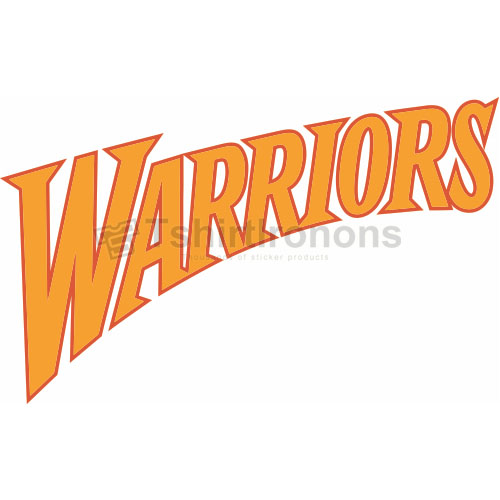 Golden State Warriors T-shirts Iron On Transfers N1008
