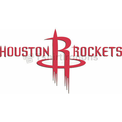 Houston Rockets T-shirts Iron On Transfers N1018