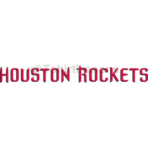 Houston Rockets T-shirts Iron On Transfers N1019
