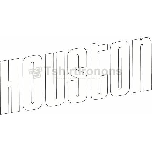 Houston Rockets T-shirts Iron On Transfers N1020