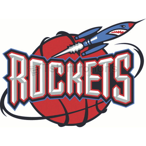 Houston Rockets T-shirts Iron On Transfers N1022