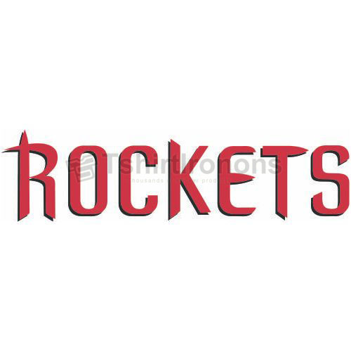Houston Rockets T-shirts Iron On Transfers N1027