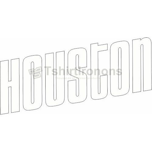 Houston Rockets T-shirts Iron On Transfers N1028