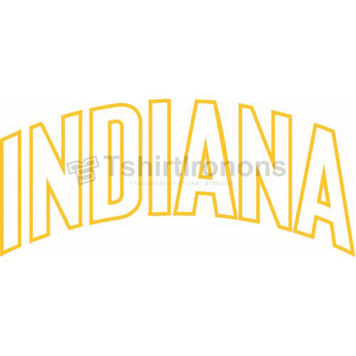 Indiana Pacers T-shirts Iron On Transfers N1031