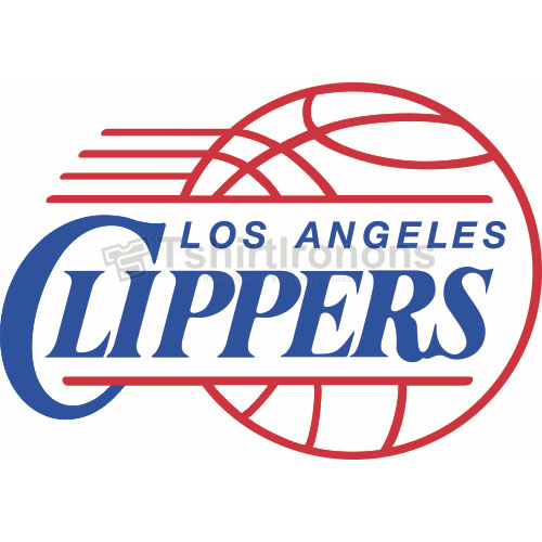 Los Angeles Clippers T-shirts Iron On Transfers N1039