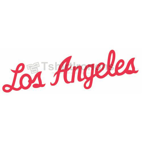Los Angeles Clippers T-shirts Iron On Transfers N1040