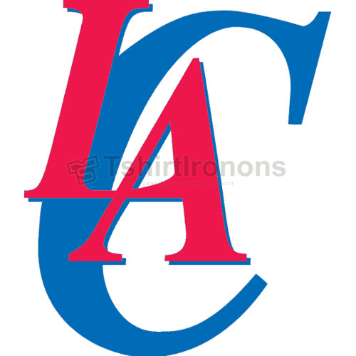 Los Angeles Clippers T-shirts Iron On Transfers N1045