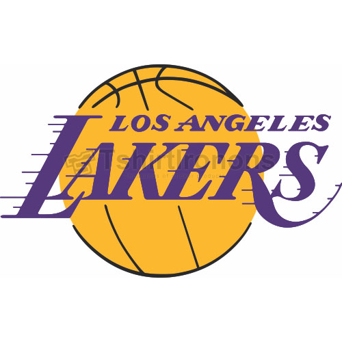 Los Angeles Lakers T-shirts Iron On Transfers N1046