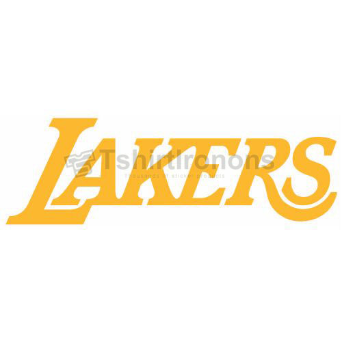 Los Angeles Lakers T-shirts Iron On Transfers N1047