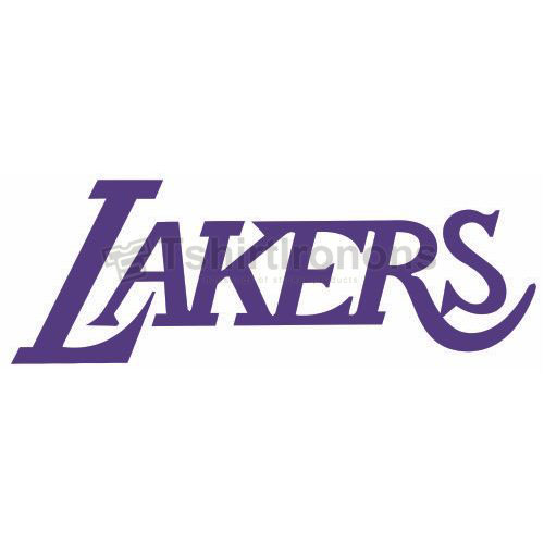 Los Angeles Lakers T-shirts Iron On Transfers N1048