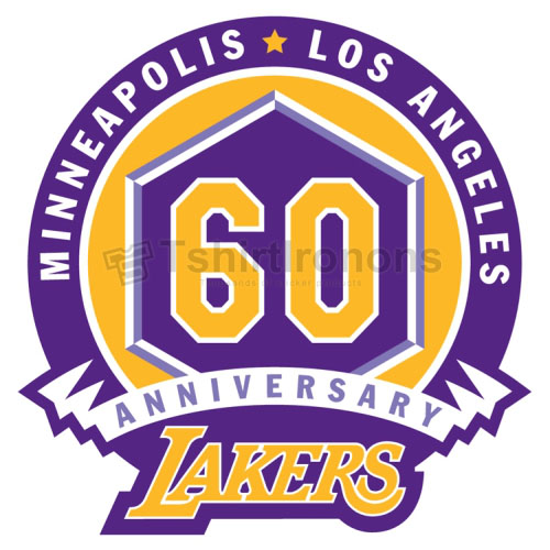 Los Angeles Lakers T-shirts Iron On Transfers N1051
